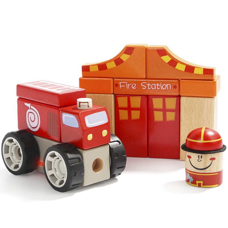Звуковые блоки Пожарная станция