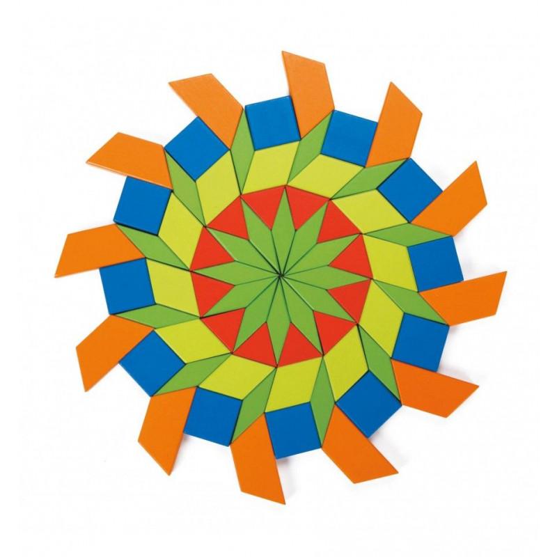 Конструктор-мозаїка Веселі фігурки