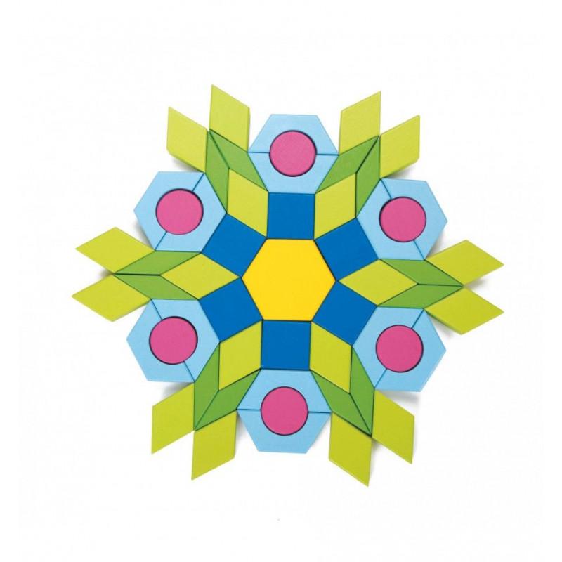 Конструктор-мозаика Веселые фигурки