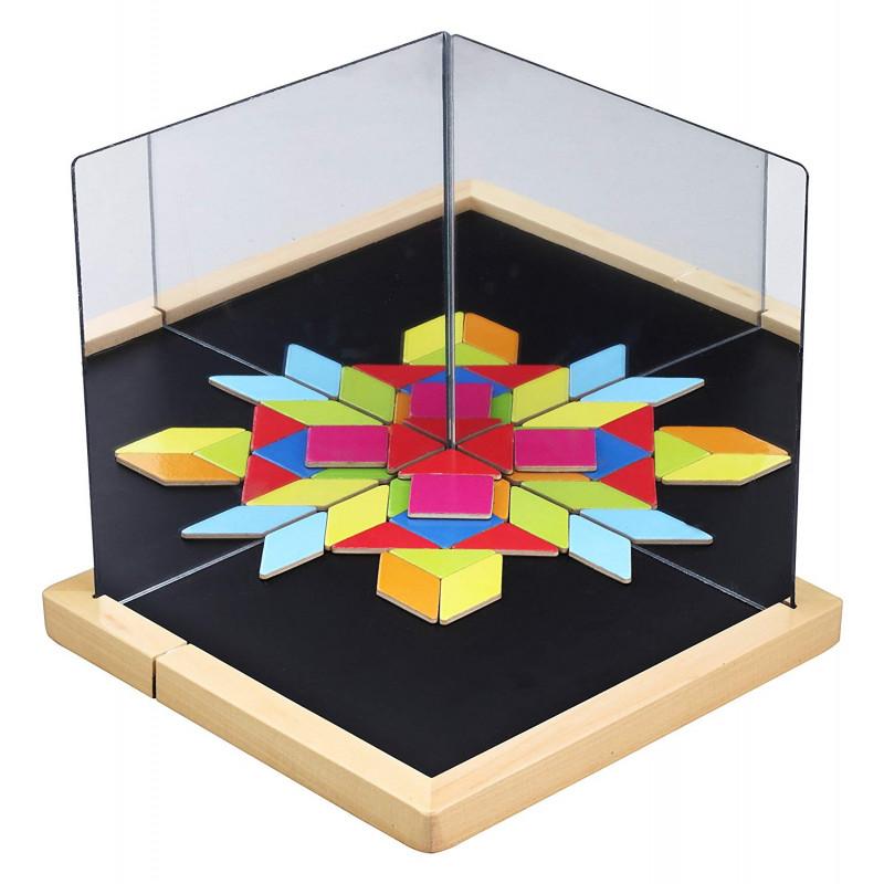 Магнитная игра с зеркалами Визуализация