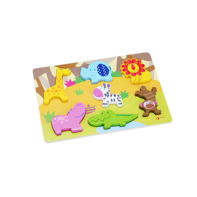 Вкладка 3D Животные