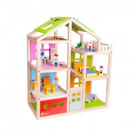 Дом для кукол Веселая вилла