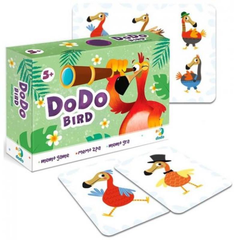 Мемо игра Птица Додо