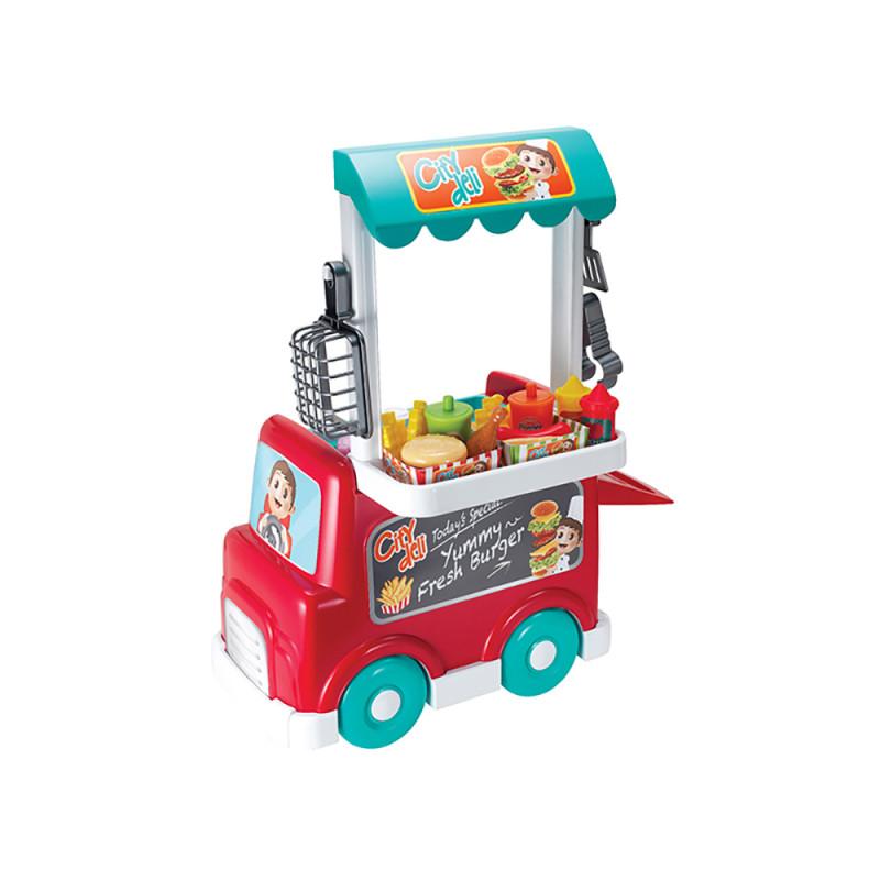 Игровой набор Фаст-фуд на колесах