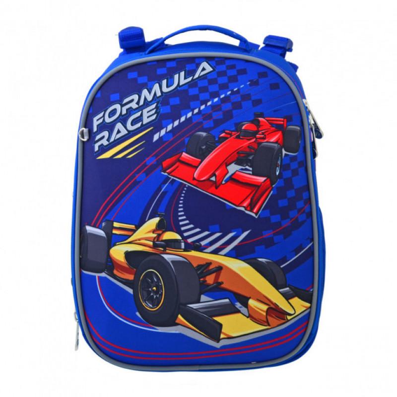 Рюкзак шкільний каркасний YES H-25 Formula Race