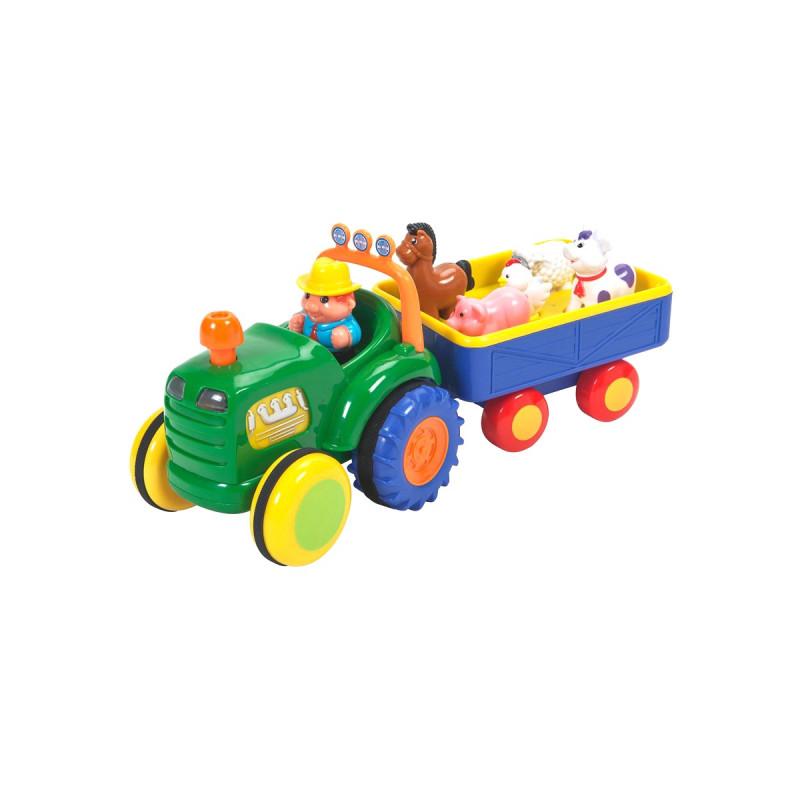 Трактор с трейлером