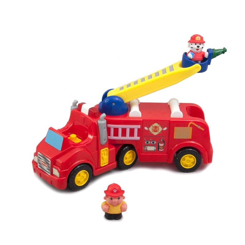 Развивающая игрушка - Пожарная машина