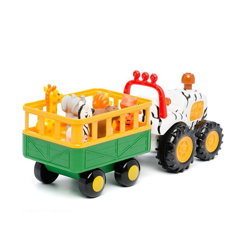 Трактор с трейлером Сафари рус